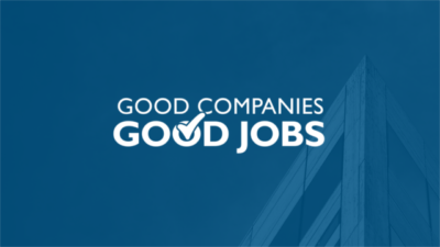 Good Companies/Good Jobs logo