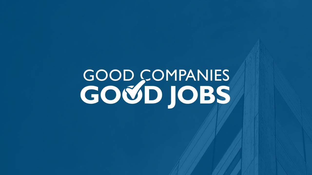 Good Companiesgood Jobs The Aspen Institute