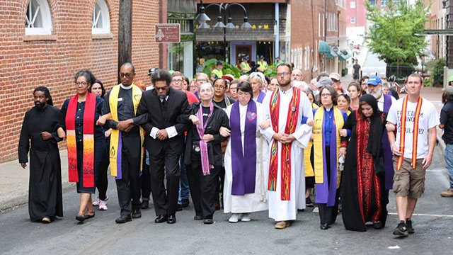 Charlottesville Interfaith March