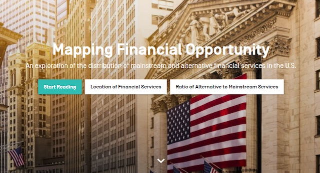 Mapping Financial Opportunity
