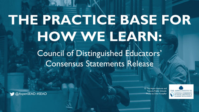 The Practice Base for How We Learn