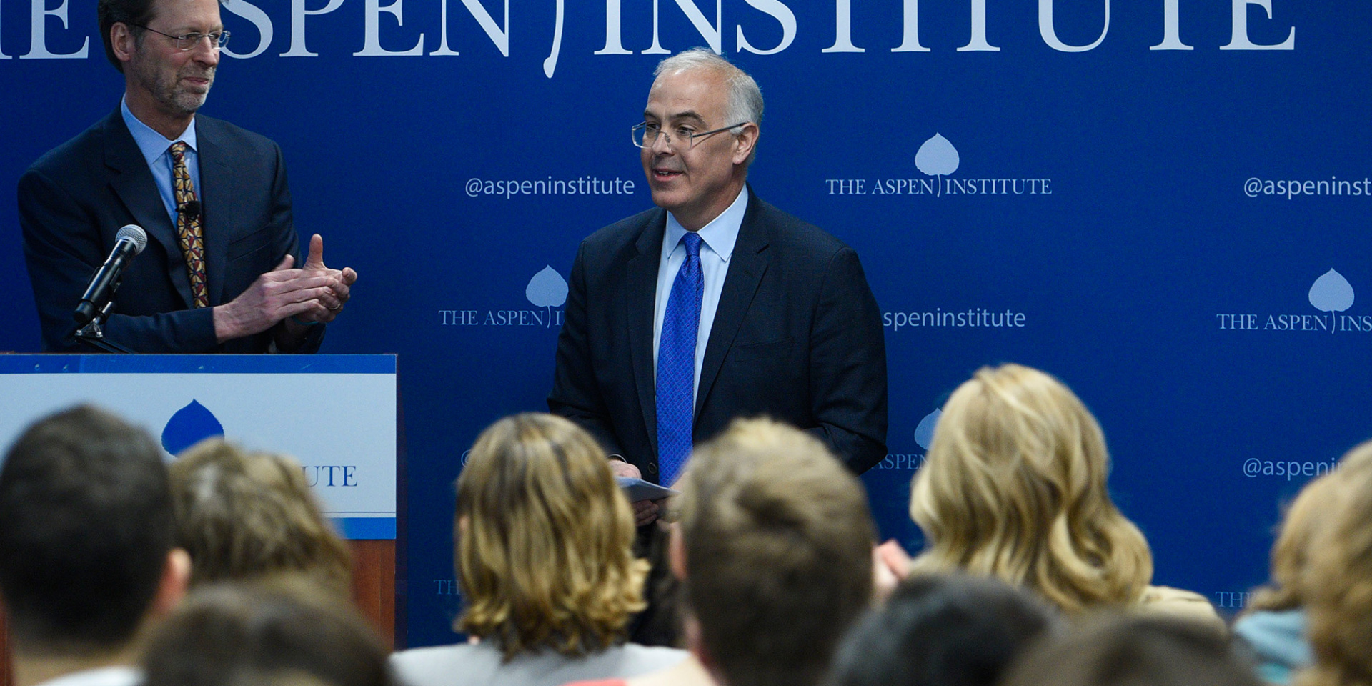 David Brooks Joins the Aspen Institute to Find Common Ground