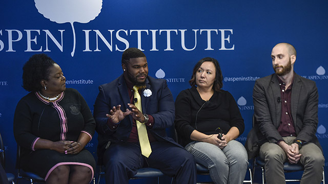Opportunity Youth panel