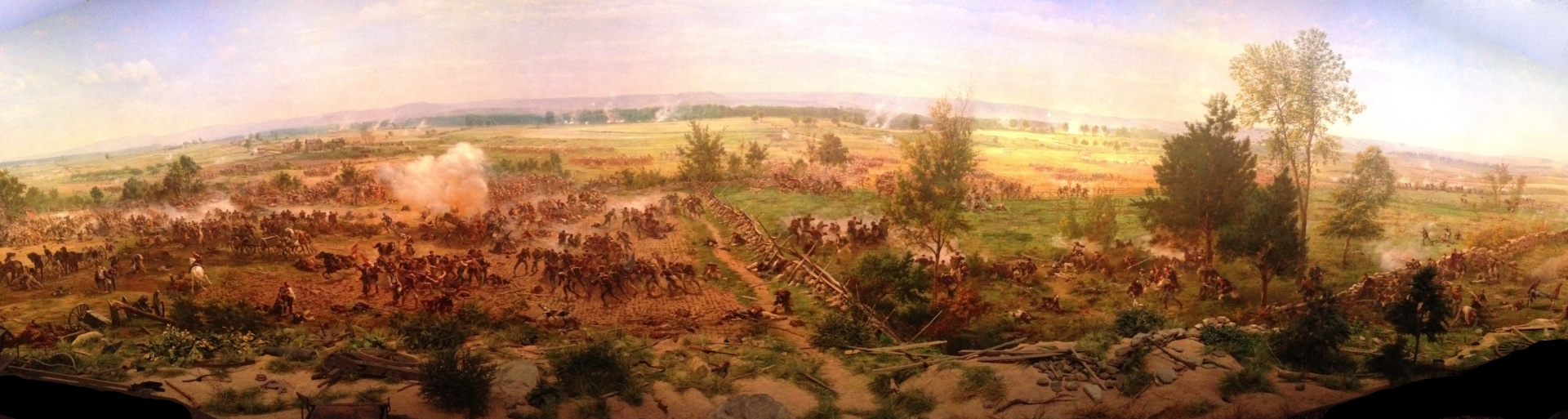 Paul Philippoteaux's Gettysburg Cyclorama