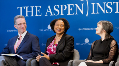 Panel of speakers from our event on employee ownership, May 2018