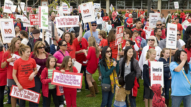 Why Teachers Are On Strike
