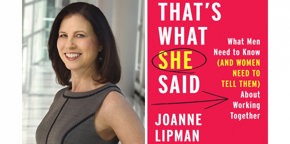 Joanne Lipman on