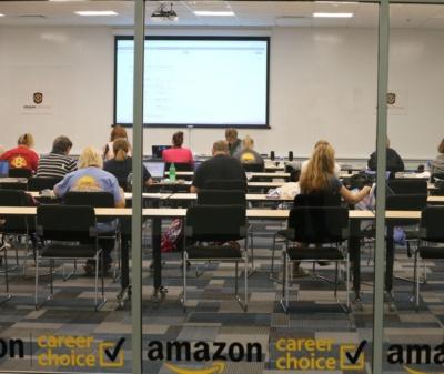 Amazon Career Choice classroom