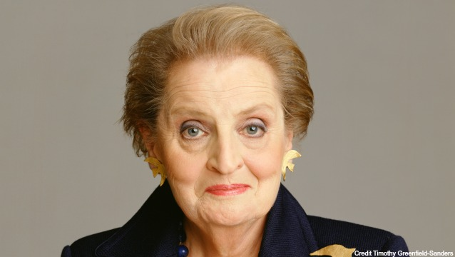 McCloskey Speaker Series: Secretary Madeleine Albright