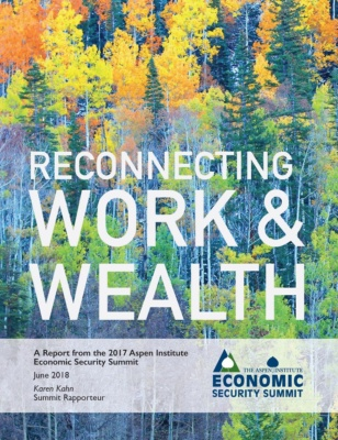 Reconnecting Work & Wealth report cover