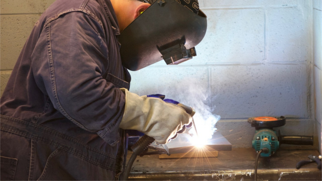 Apprentice welding