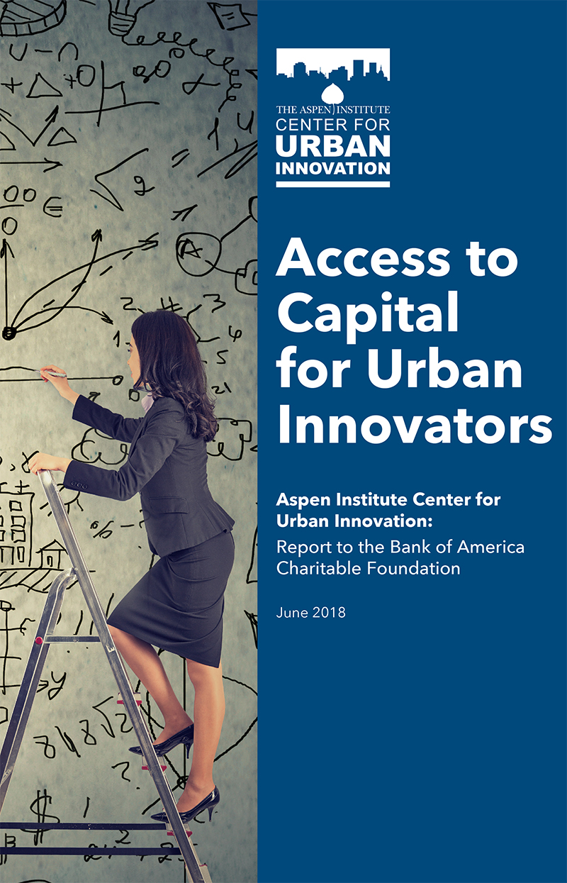 Access to Capital for Urban Innovators