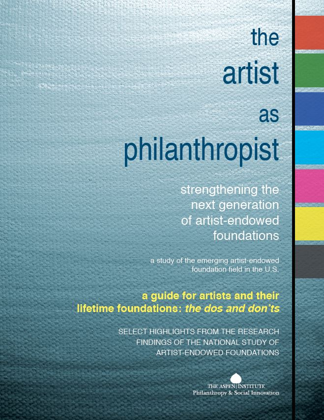 A Guide for Artists and Their Lifetime Foundations