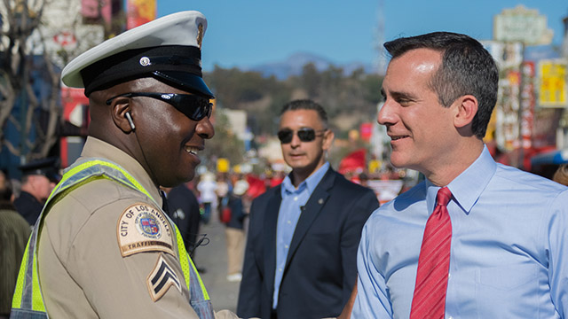 Eric Garcetti Talks Local Action