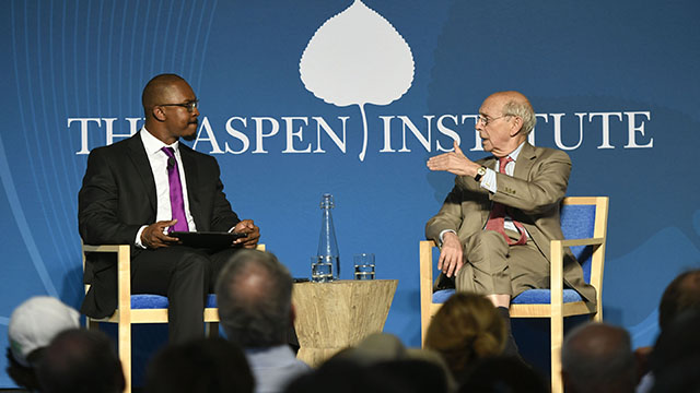 A Conversation with Justice Stephen Breyer