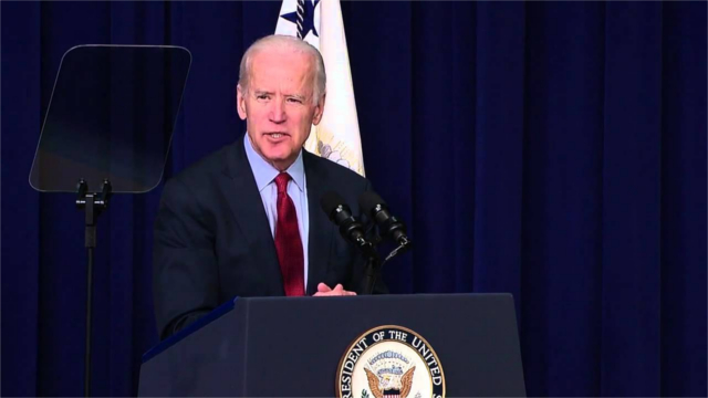 Joe Biden speaks at the White House Upskilling Summit