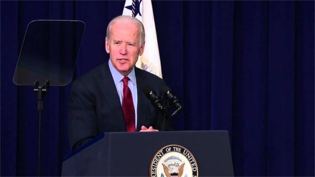 Joe Biden speaks at the White House Upskilling Summit