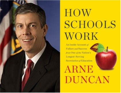Book Talk with Arne Duncan
