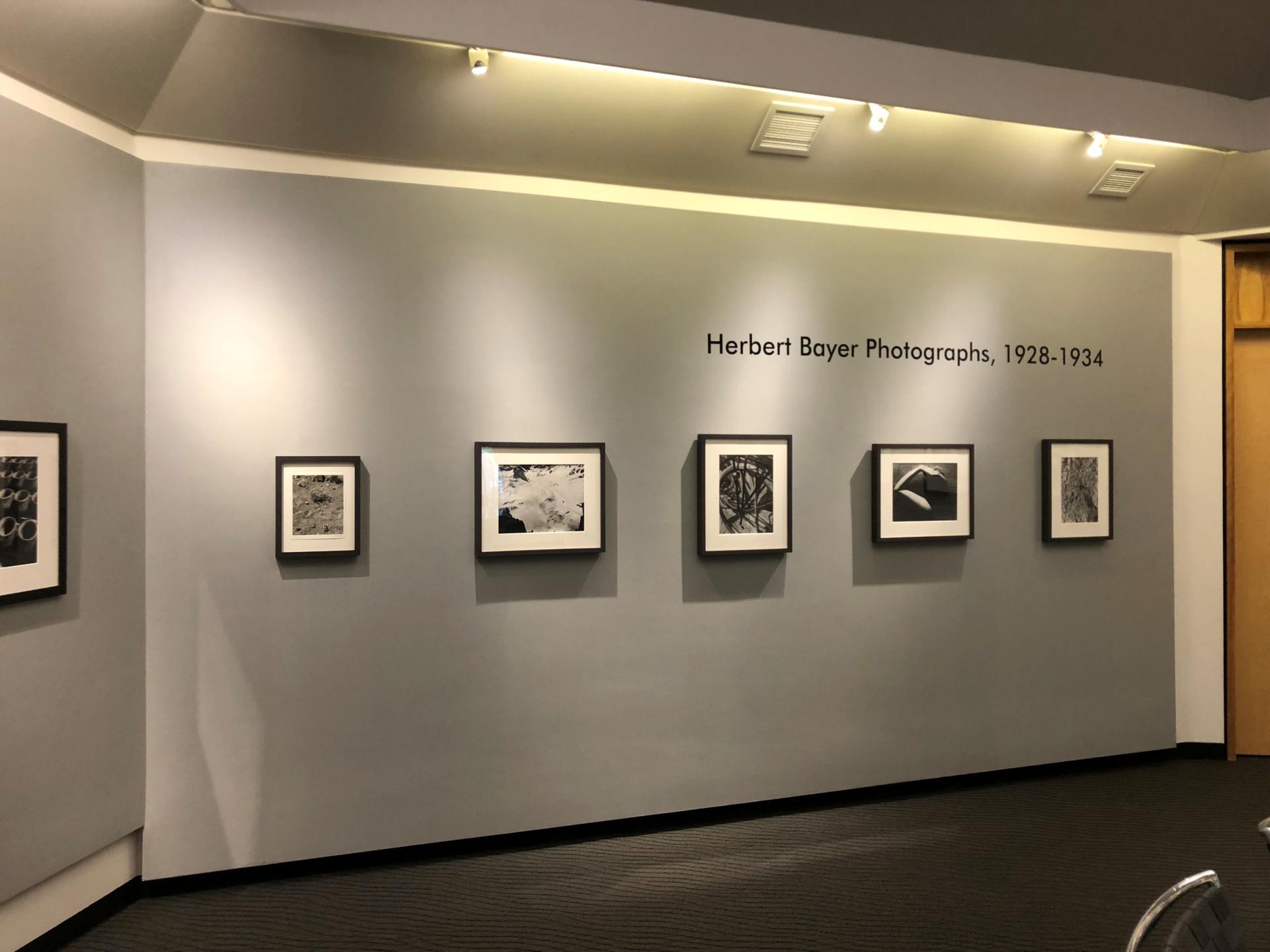 Herbert Bayer Photographs, 1928-1934