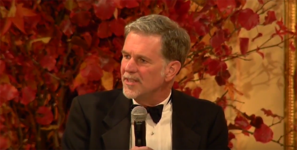 Reed Hastings, Founder and CEO, Netflix