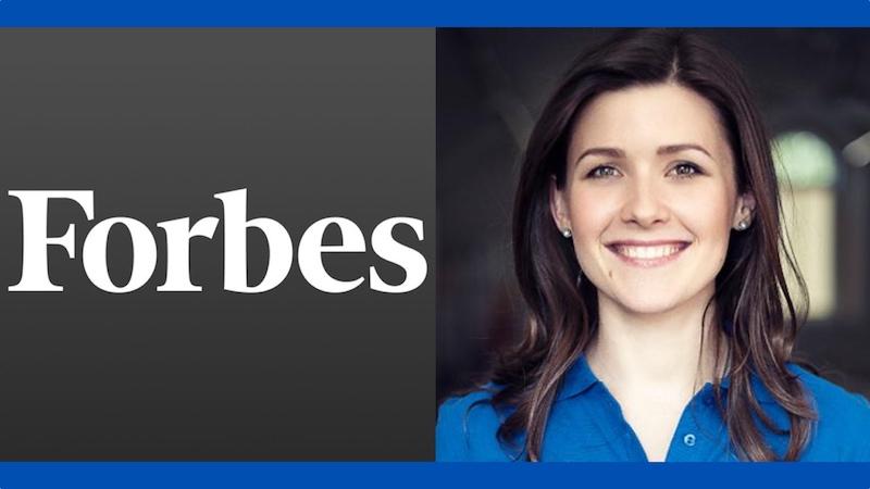 Yuliya Tychkivska among Forbes' top 30 under 30 Europe