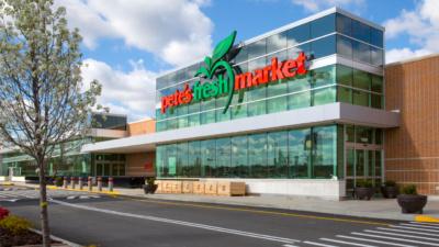 Pete's Fresh Market, front exterior
