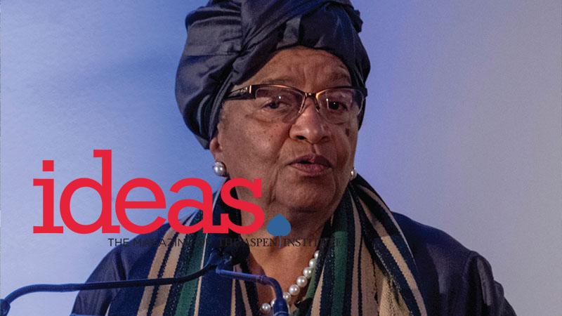 Ellen Johnson Sirleaf Honored