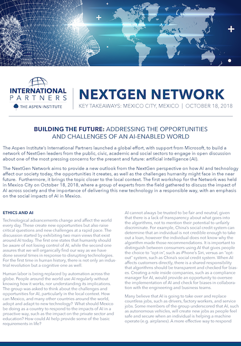 NextGen Network: Mexico City
