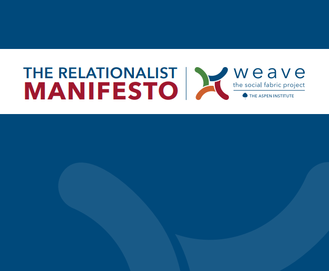 The Relationalist Manifesto