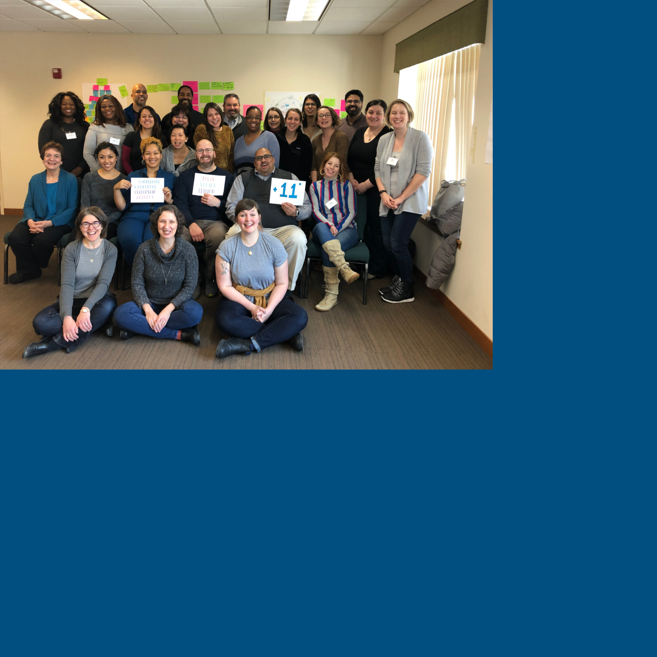 Members of the Chicagoland Workforce Leadership Academy Class of 2019