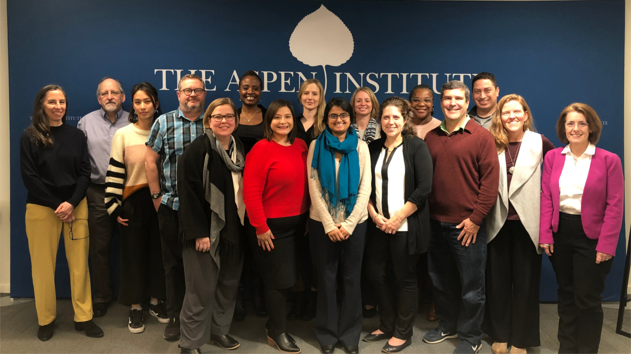 The second cohort of Job Quality Fellows meet at the Aspen Institute for their second convening in March 2019