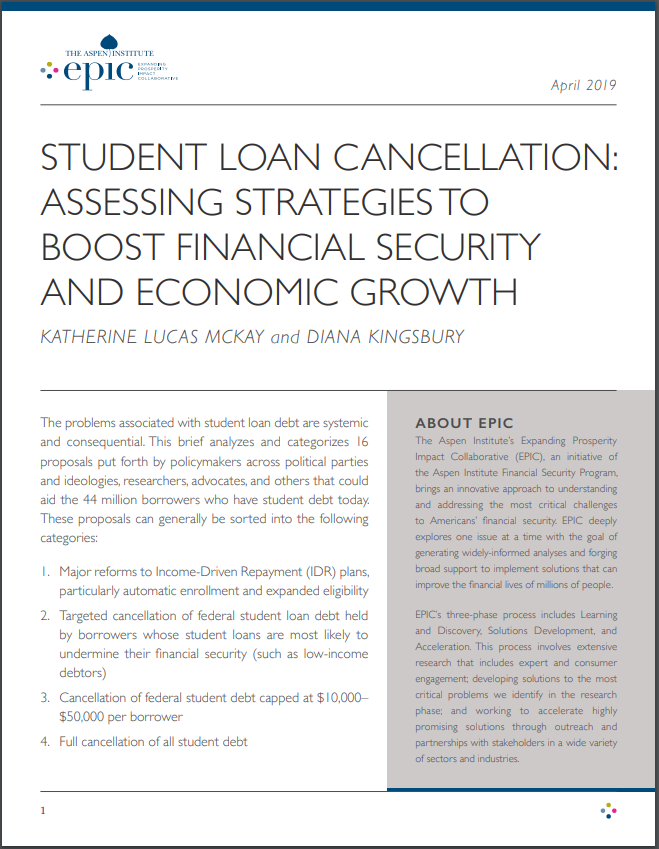 Student Loan Cancellation Report
