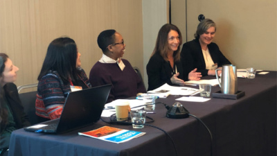 Panelists speak at the 8th Annual Convening on Healthy Food Access