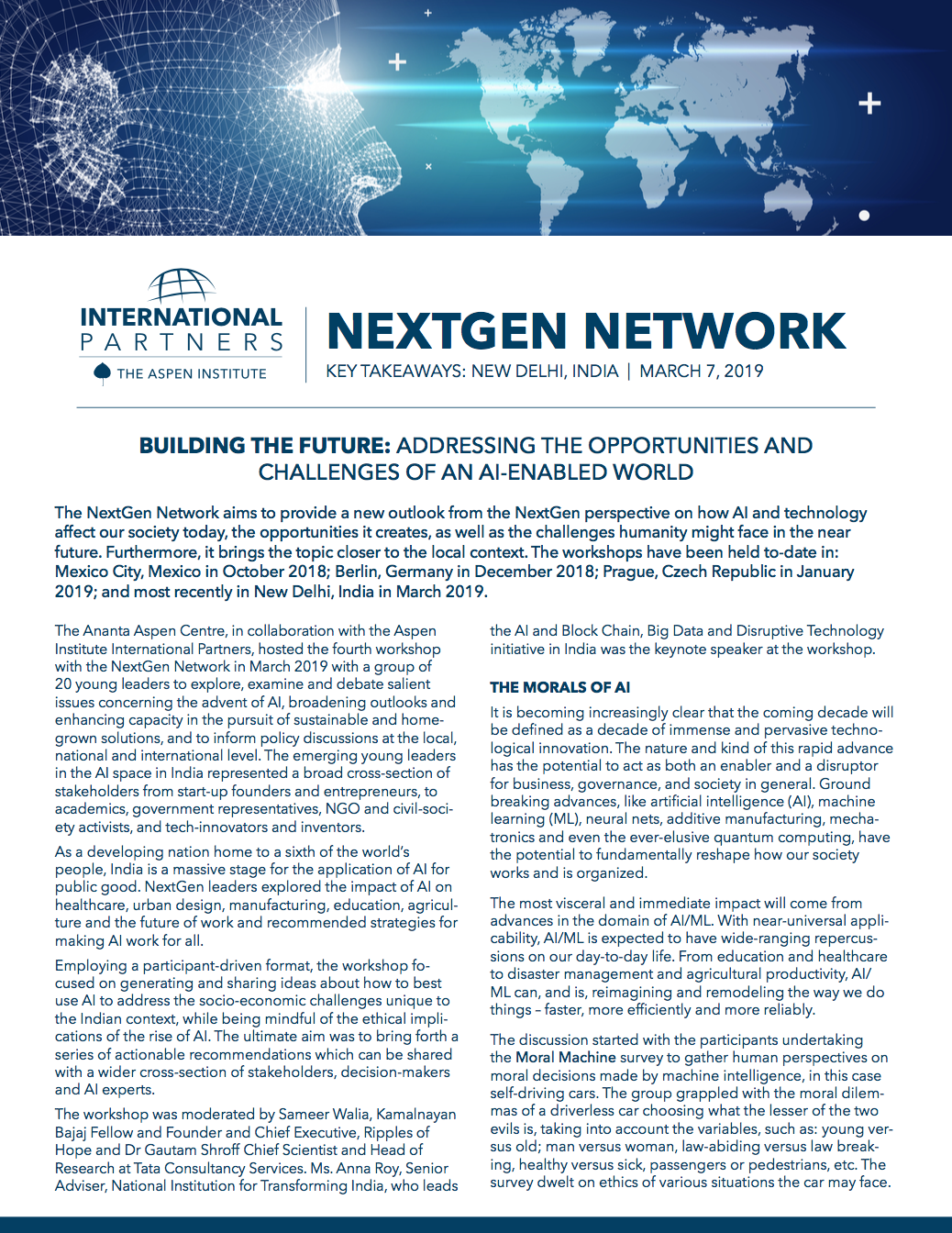NextGen Network: New Delhi, India