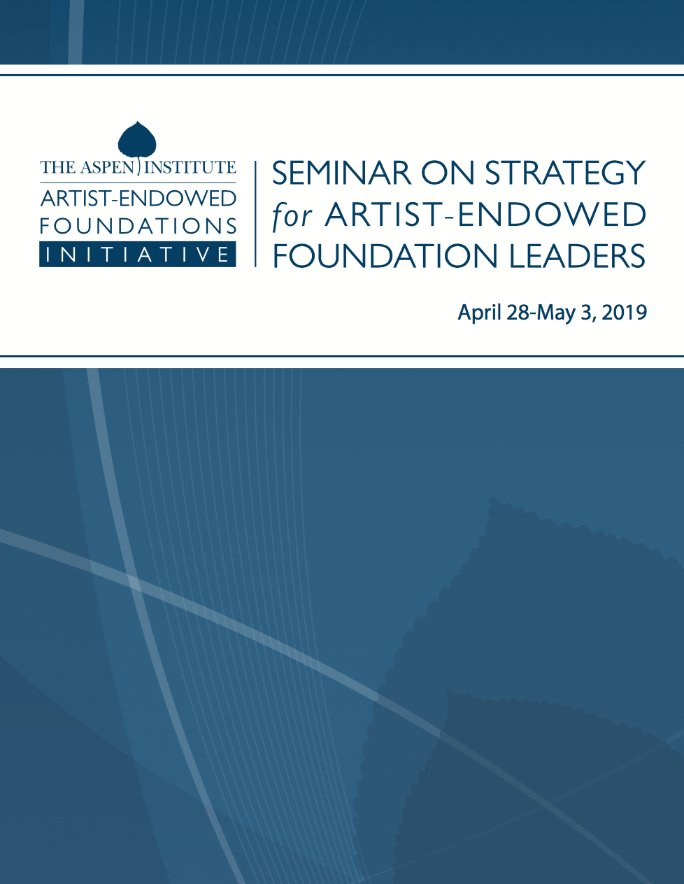 2019 Course Book: Seminar on Strategy for AEF Leaders
