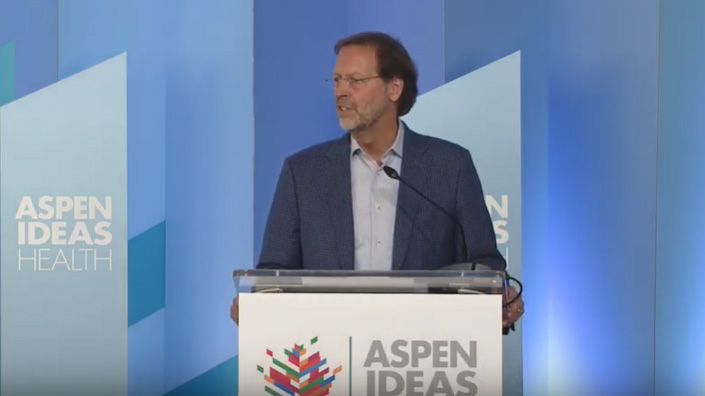 "Aspen Ideas: Health Opening Remarks: ""A Culture of Health is a Culture of Freedom"""