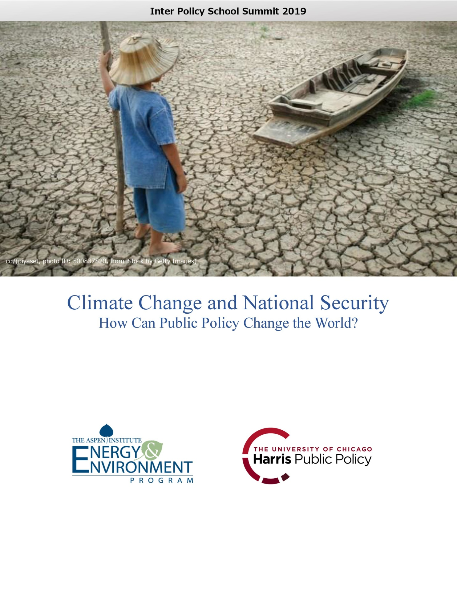 Climate Change and National Security: How Can Public Policy Change the World?