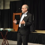 Mark Popovich speaks at the 2019 Kansas Conference on Poverty