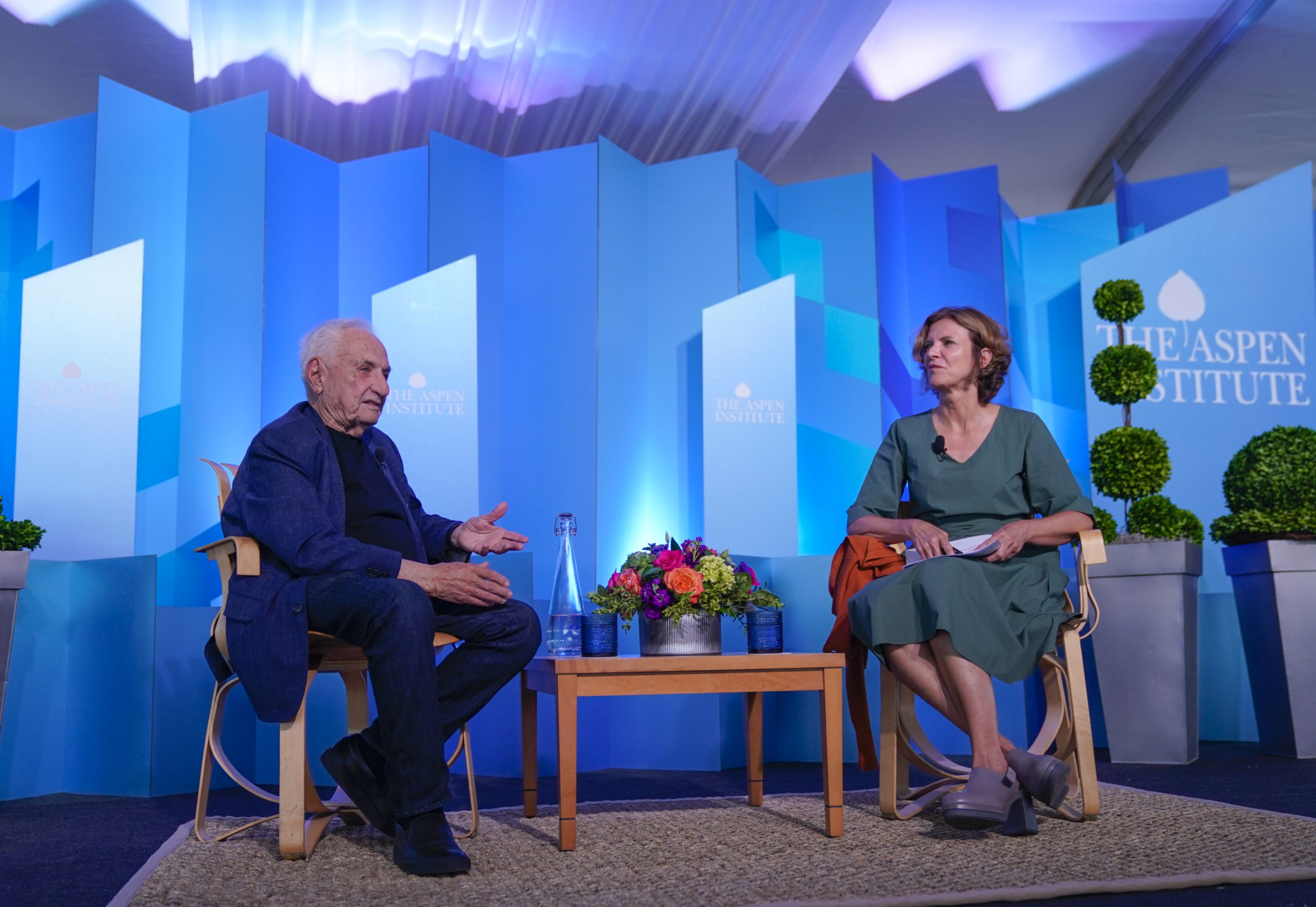 Introduction: Summer Celebration Conversation Honoring Frank Gehry