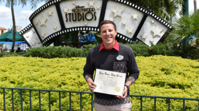 Ryan Pragano, attractions coordinator at Walt Disney World and Disney Aspire student