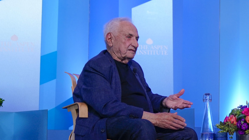 Frank Gehry on Architecture and Movement