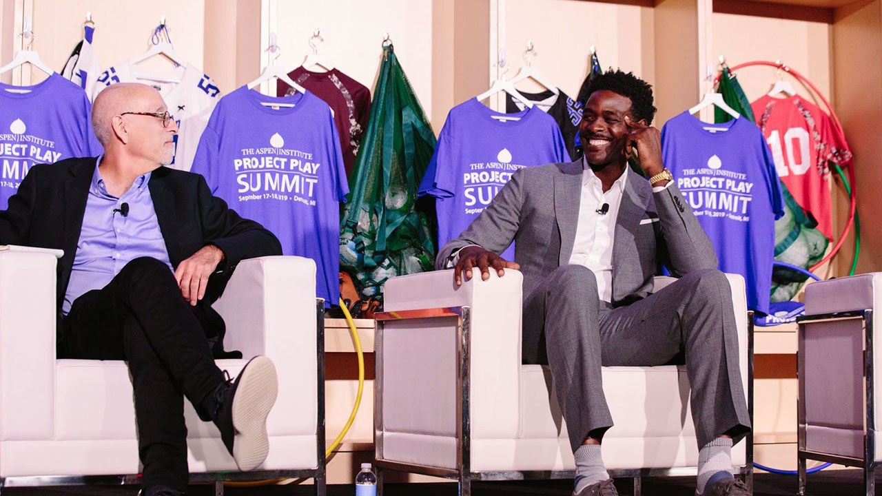 """Basketball's Chris Webber: The pressure on kids to make the NBA is """"scary"""" - The Aspen Institute"""