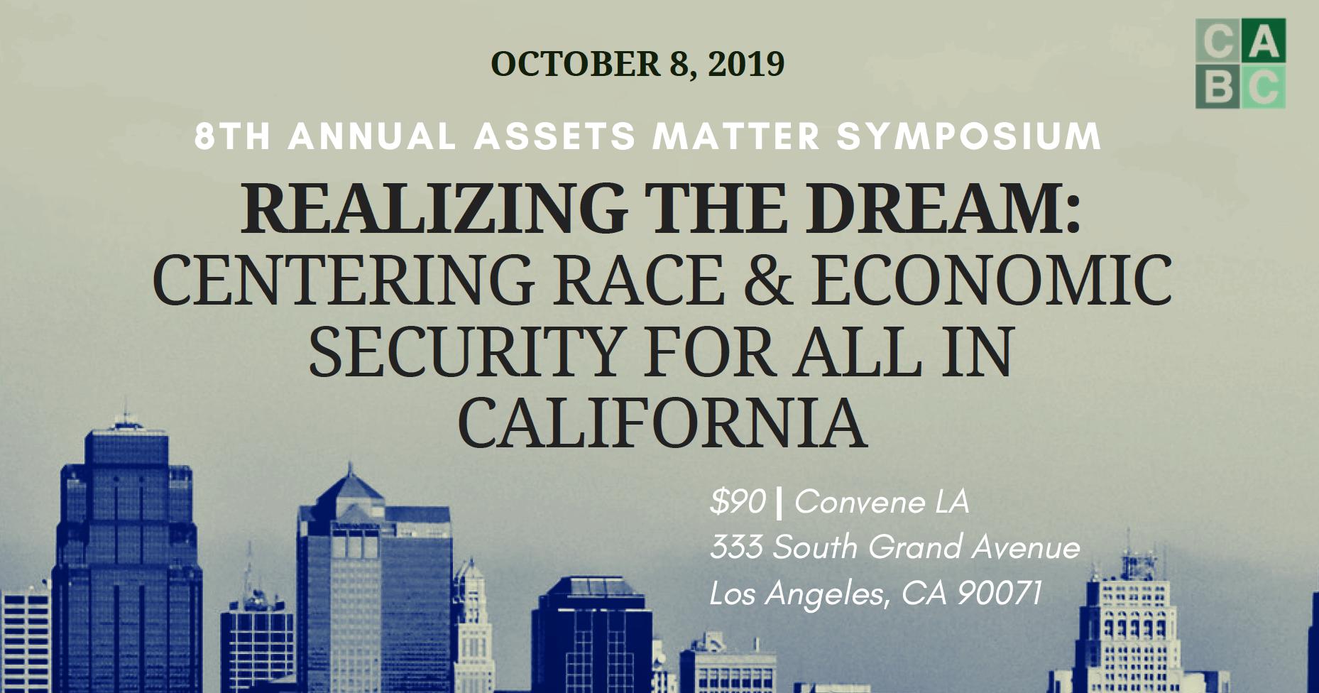 2019 Assets Matter Symposium