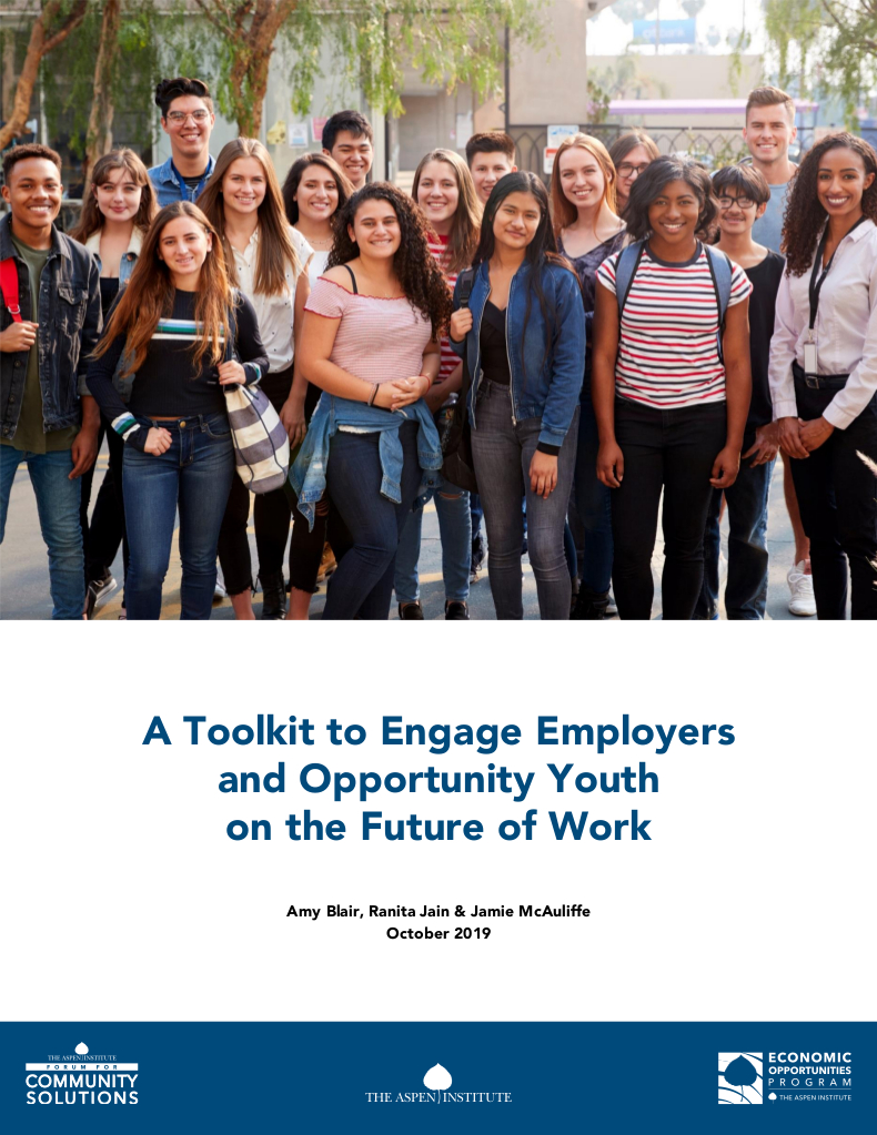 A Toolkit to Engage Employers and Opportunity Youth on the Future of Work