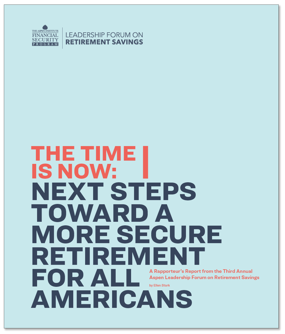 Next Steps Toward a More Secure Retirement for All Americans
