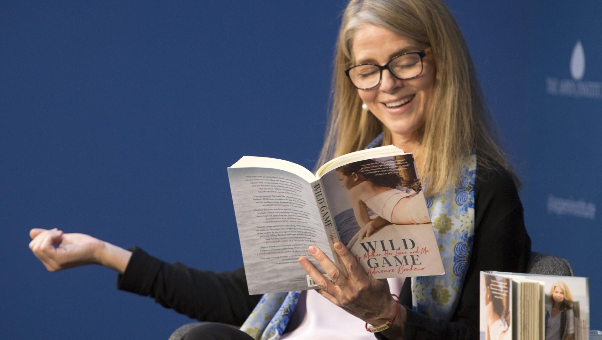 Adrienne Broduer reading an excerpt from her memoir Wild Game.