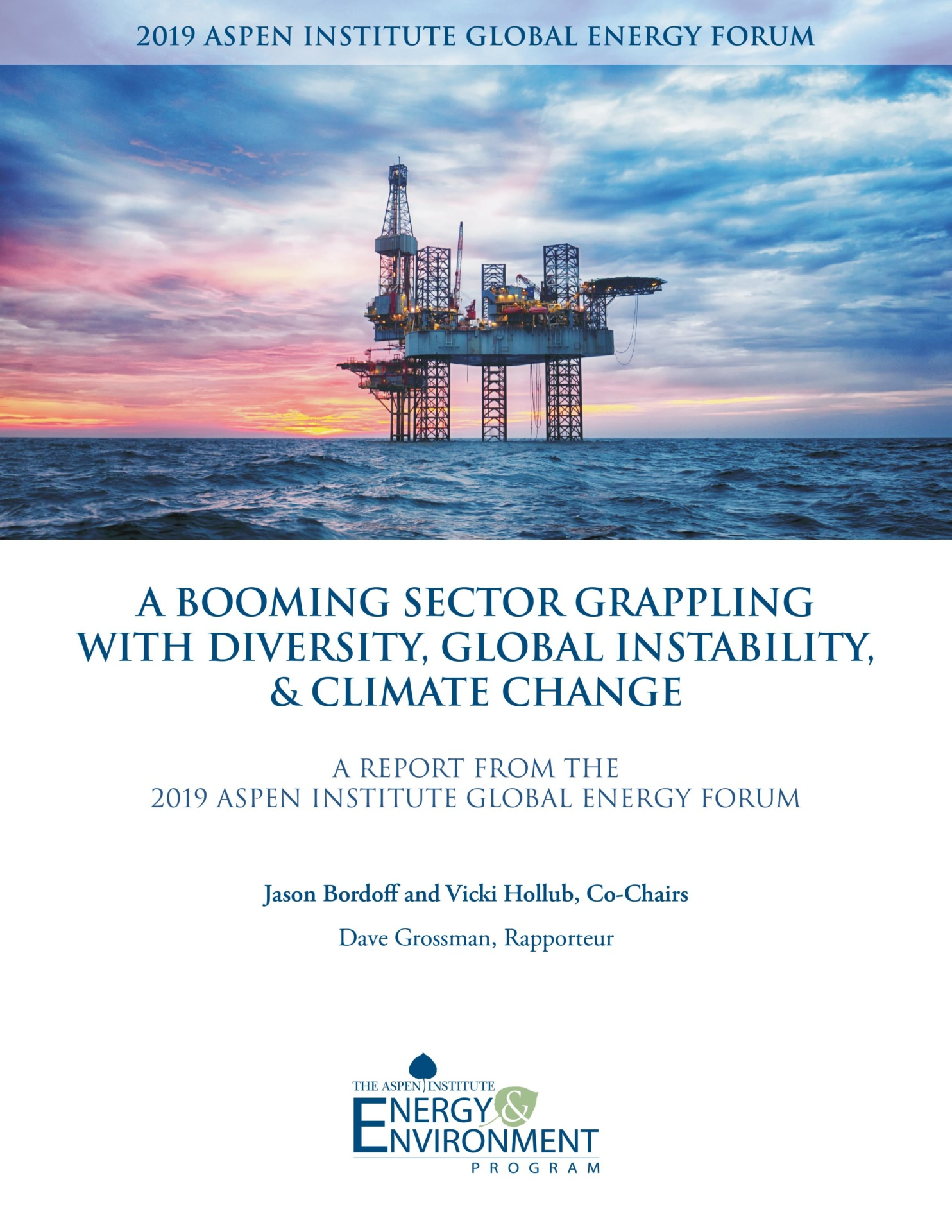 2019 Global Energy Forum Report