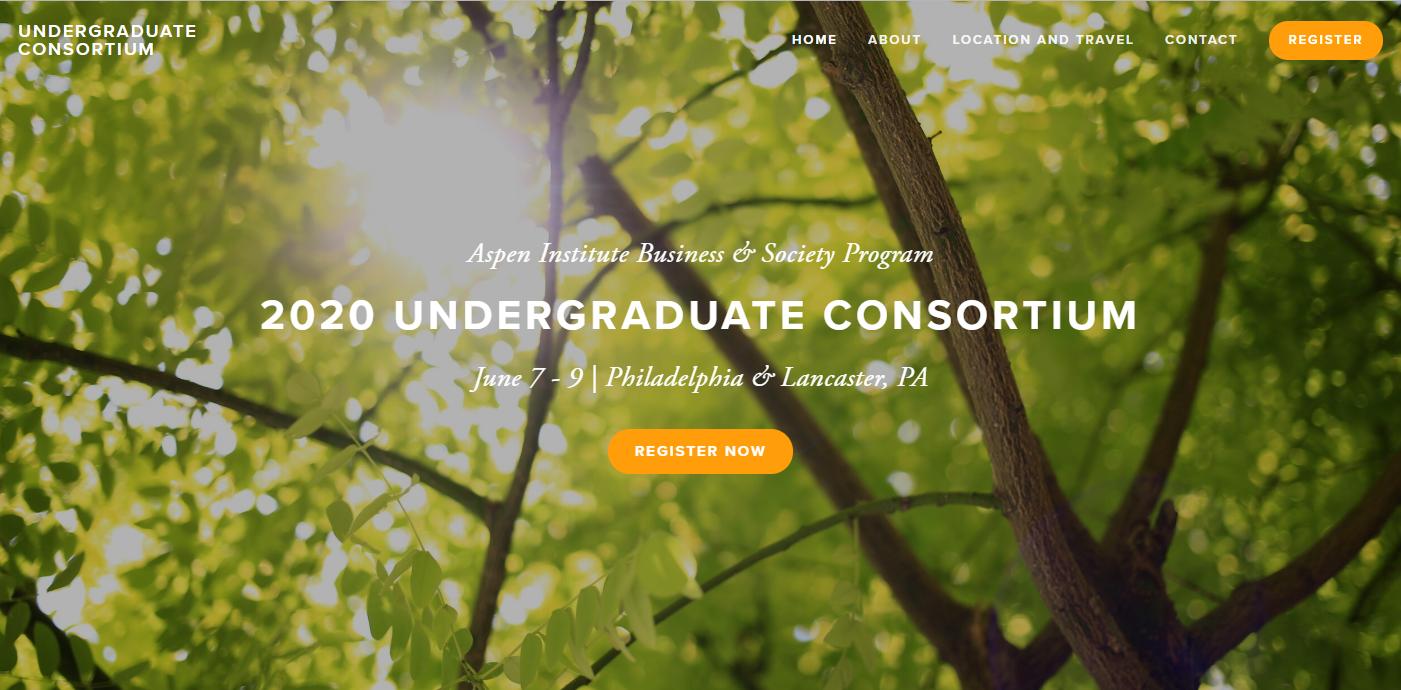 2020 Undergraduate Convening
