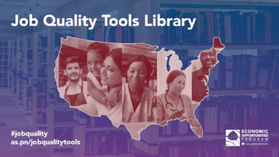 Job Quality Tools Library. #jobquality as.pn/jobqualitytools