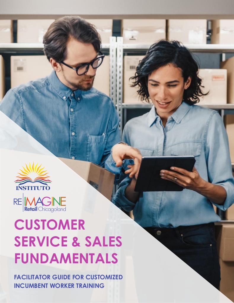 Retail Training Facilitators' Guide